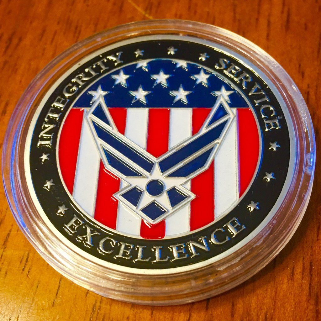 United States Air Force Oath Challenge Coin Air force