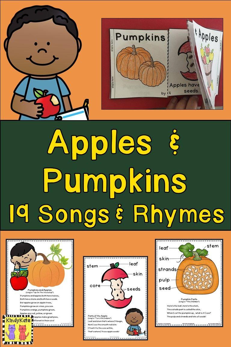 Apples Pumpkins Life Cycle Johnny Appleseed Jack Olantern