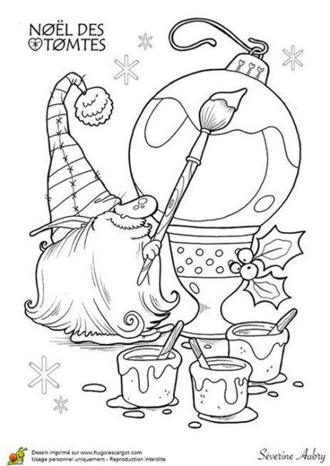 37 karácsonyi manó15  pagi decoplage  weihnachtsfarben