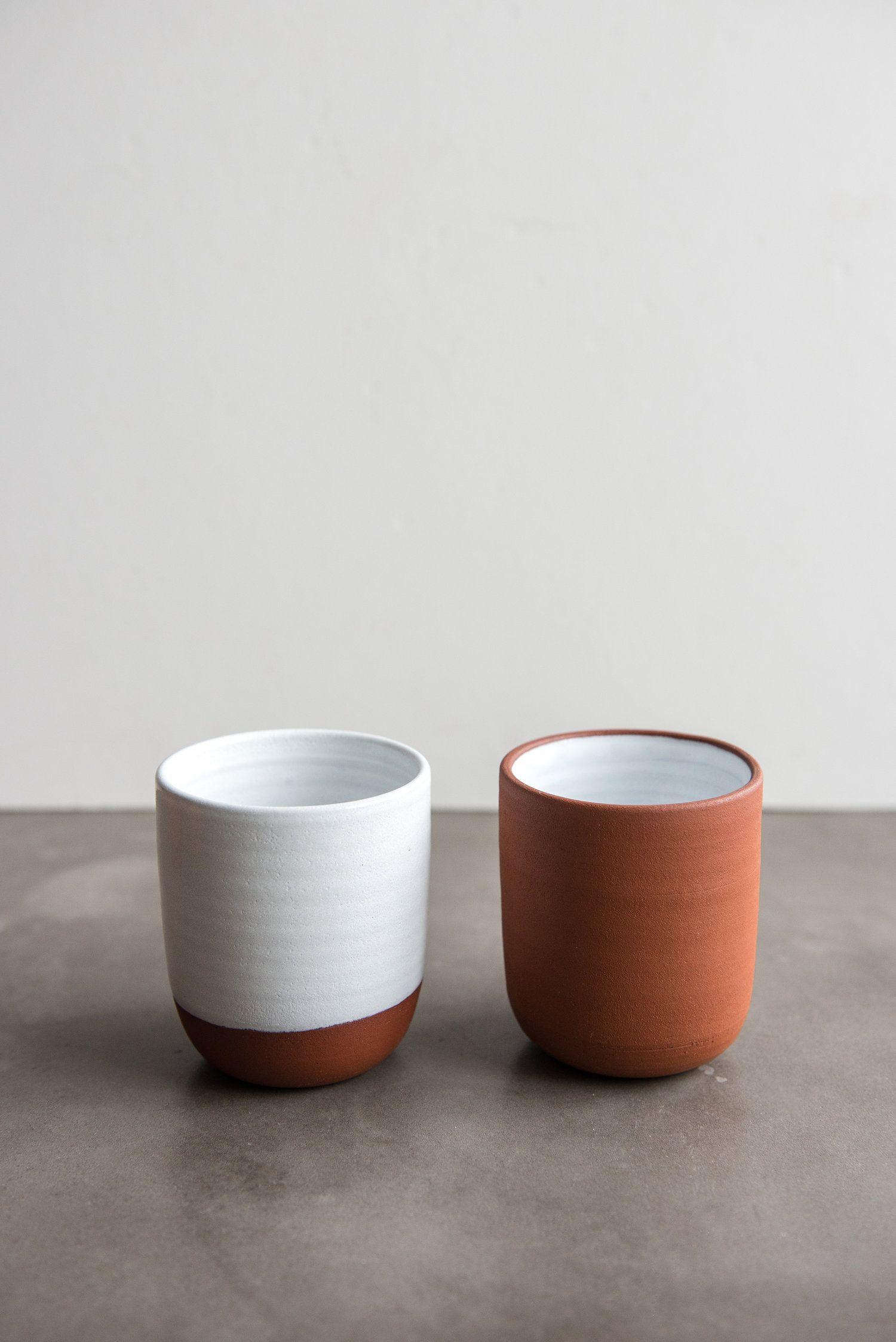 Terracotta Coffee/Tea Cup — Creating Comfort Lab