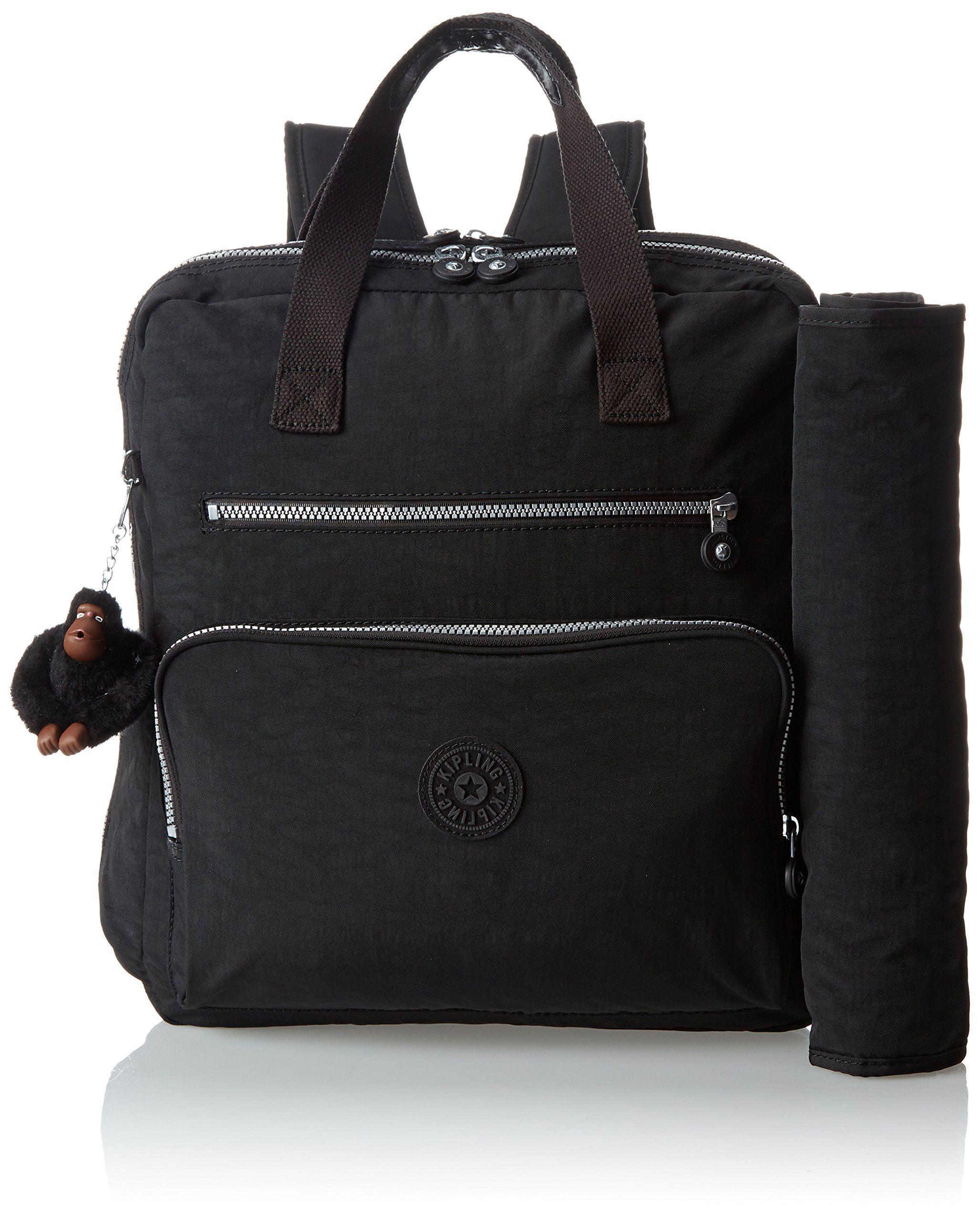 bd4a5a5a9 Amazon.com: Kipling Audra, Black, One Size: Clothing | Unisex Diaper ...
