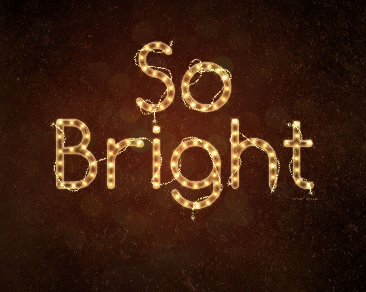 Bright rope light text effect graphicsphotoshop pinterest bright rope light text effect in 35 new photoshop text effect tutorials baditri Images