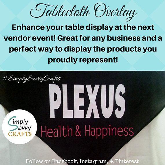 Plexus Tablecloth Overlay Watercolor Vendor Event Plexus
