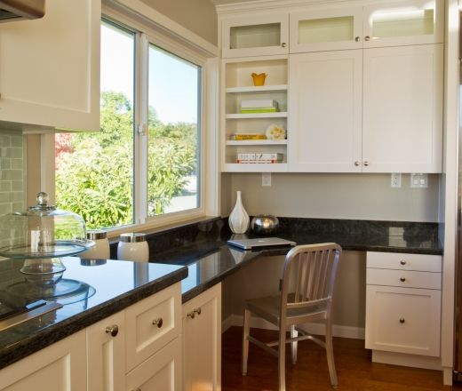 Traditional Island Style Kitchen White, Bay Area Kitchen Cabinets