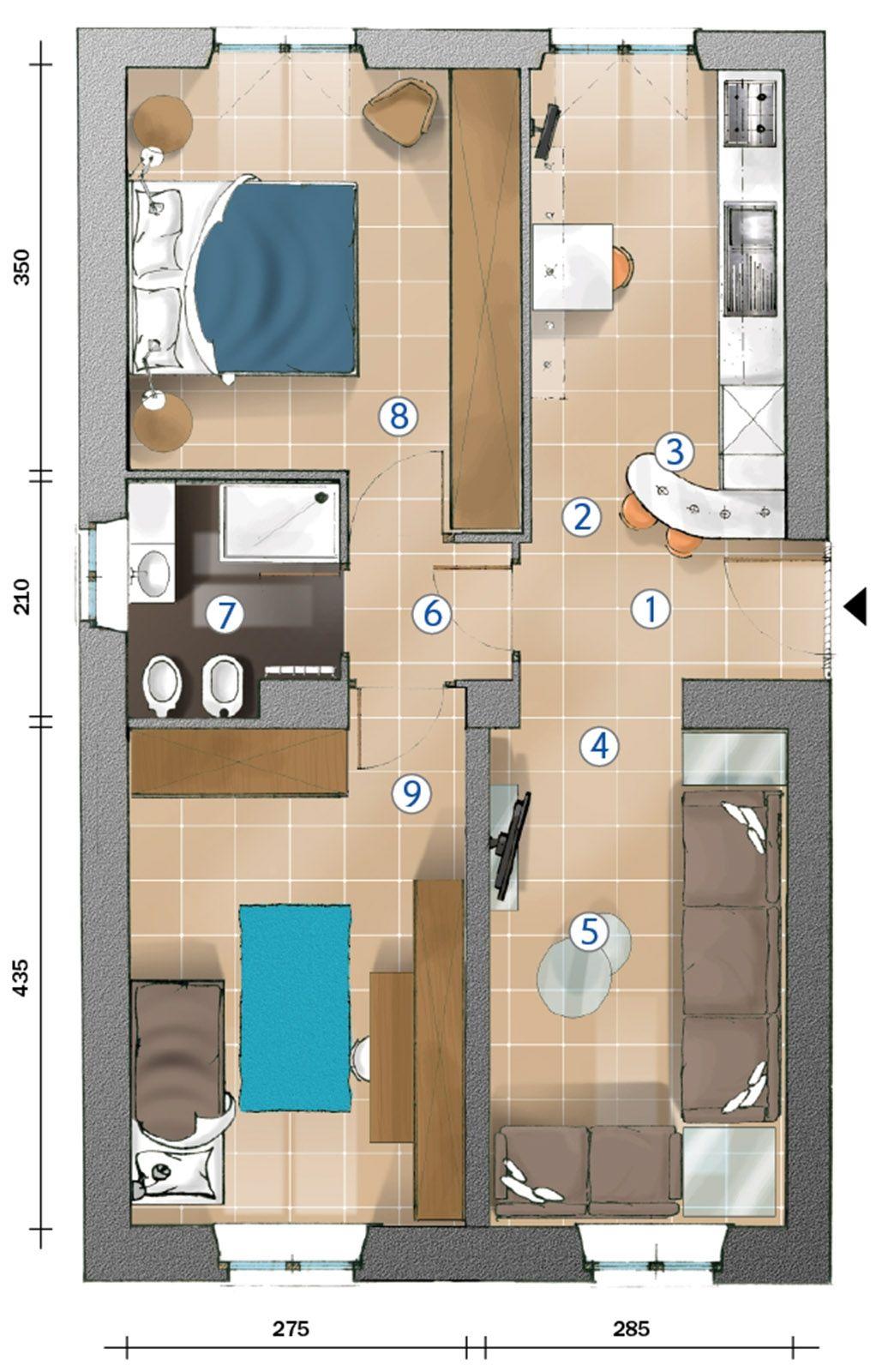 Unico Ambiente Cucina Soggiorno soggiorno cucina piccolo : soggiorno cucina piccolo cucina e
