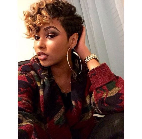 Short Hairstyles for Black Women Short Hairstyle Ideas Pinterest