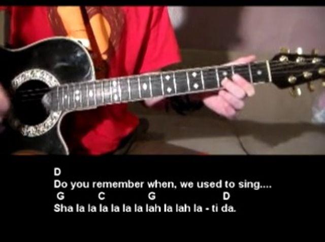 Brown Eyed Girl Van Morrison Guitar Tutorial Van Morrison