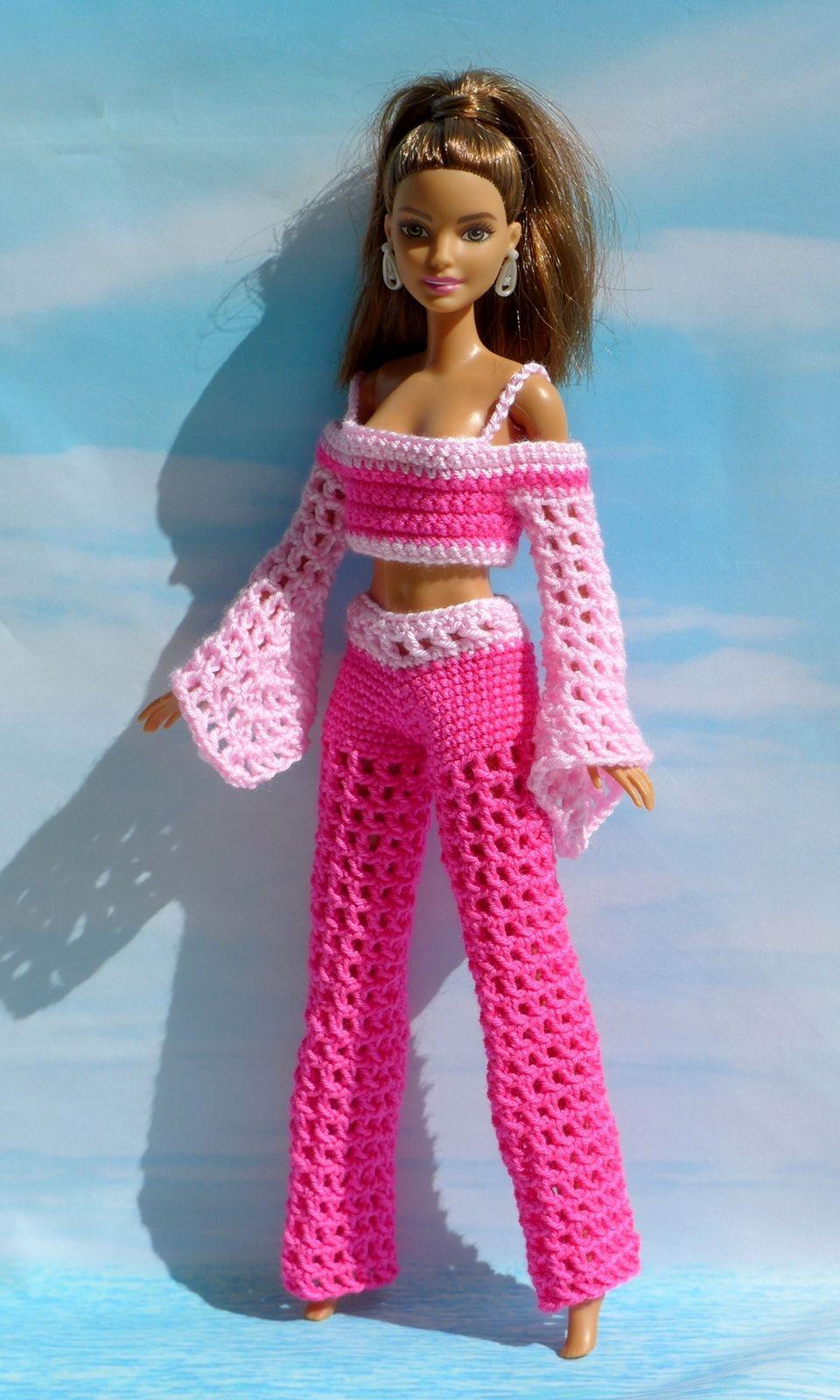 Schicke Sommermode Für Barbie Seinfach Selber Häkeln Barbie