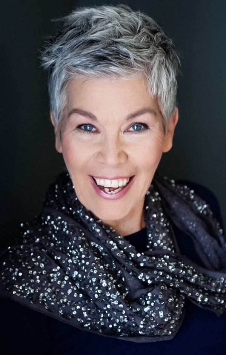Image result for pretty stylish grey haired women over grandma