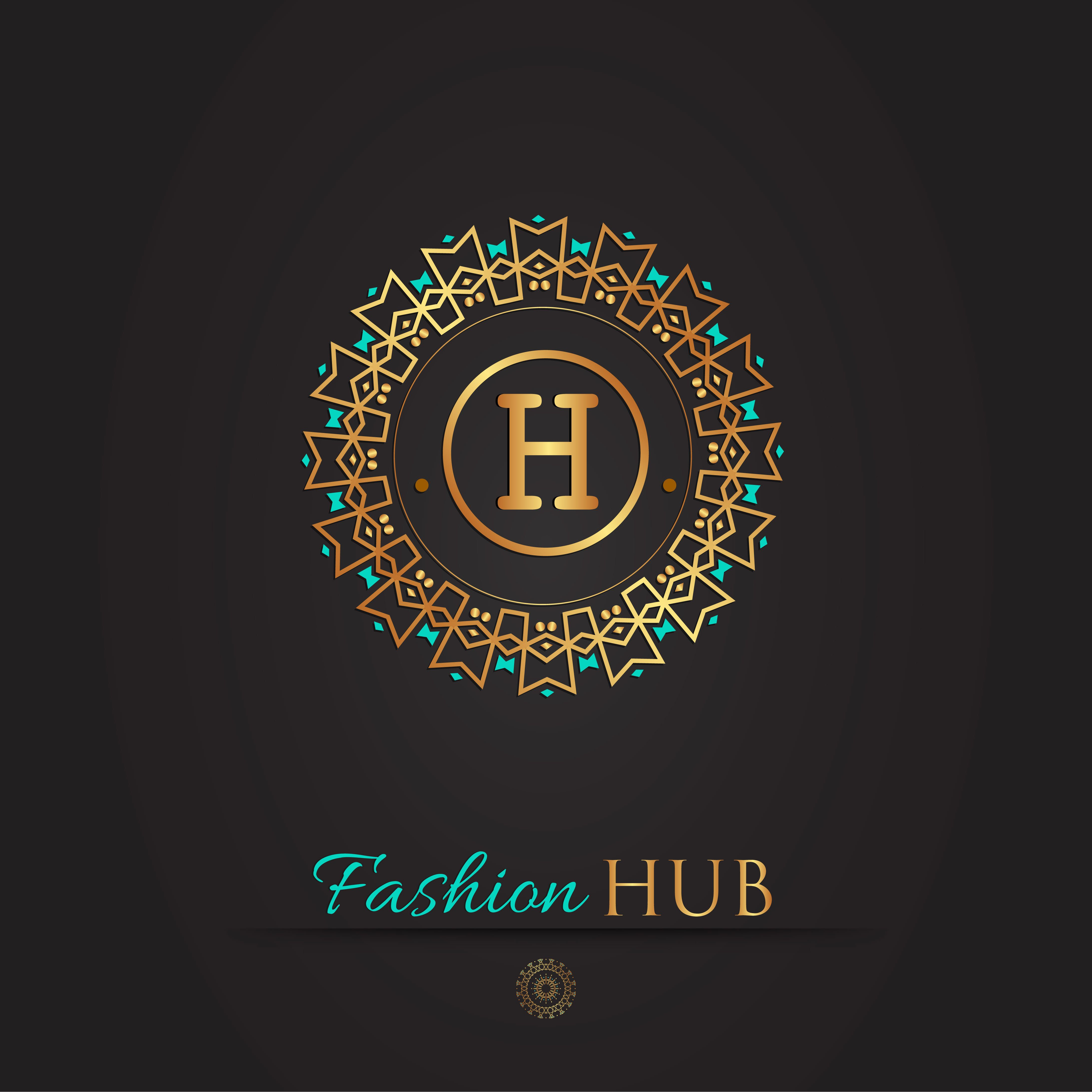 Check Out My Behance Project Fashion Hub Logo Https Www