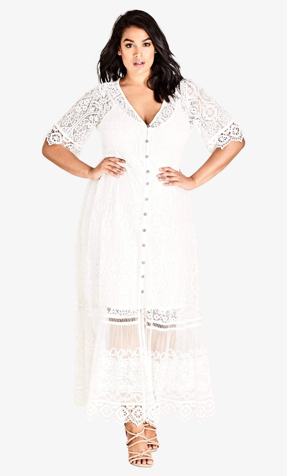 Ivory Summer Lace Maxi Dress Coedition Maxi Dress Plus Size Maxi Dresses Lace Maxi [ 1660 x 1000 Pixel ]