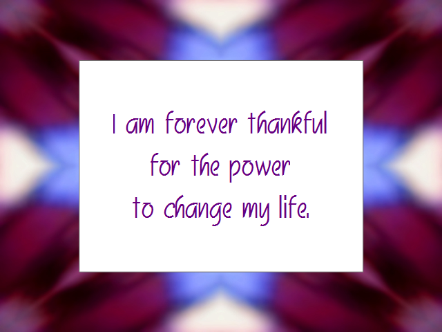 Daily Affirmation for March 23, 2013