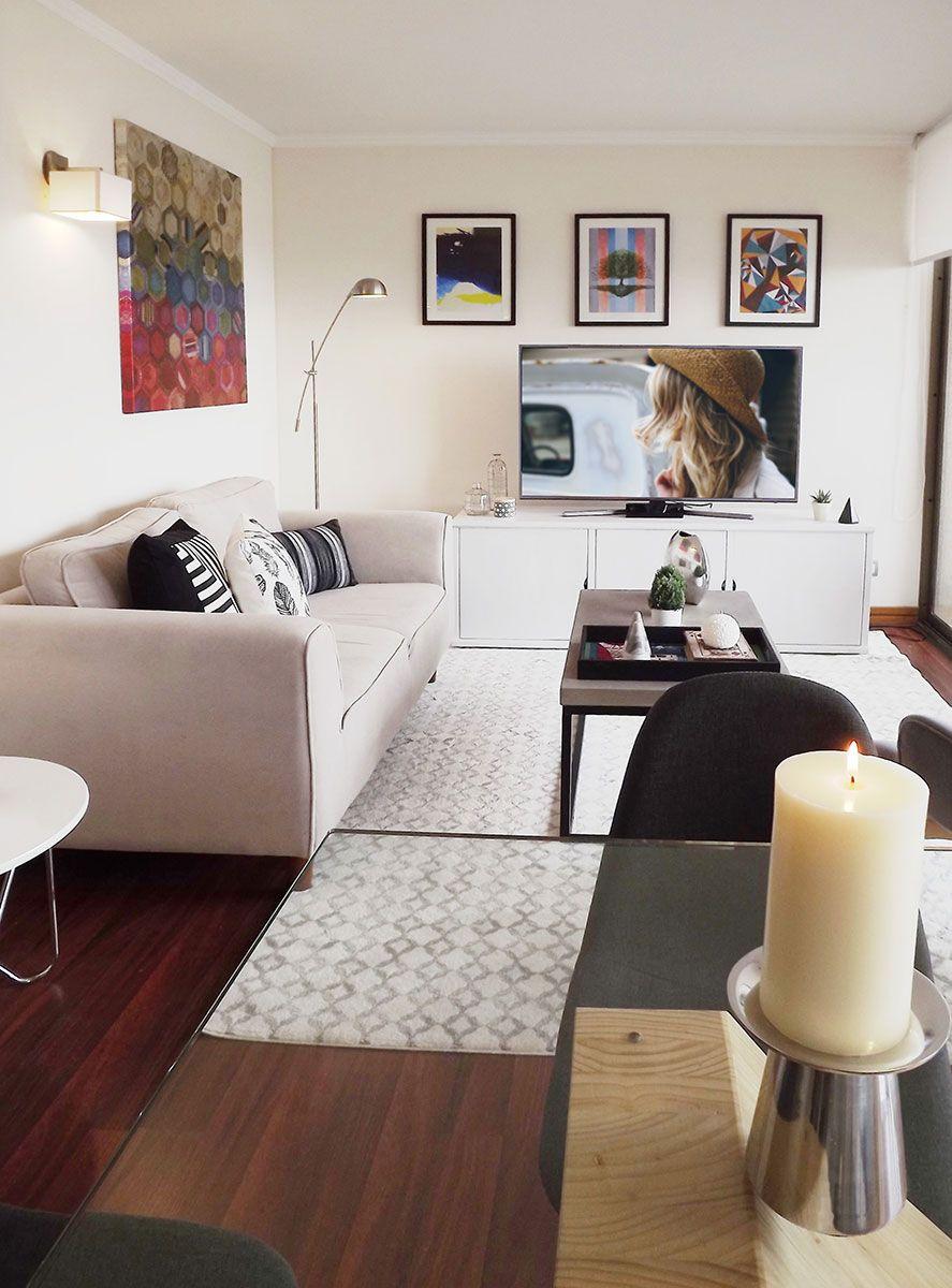 Decoracin de living comedor minimalista  decoracin piso