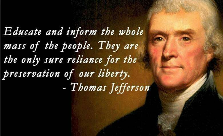 Pin by Ericka Sauer on quotes | Jefferson quotes, Thomas jefferson