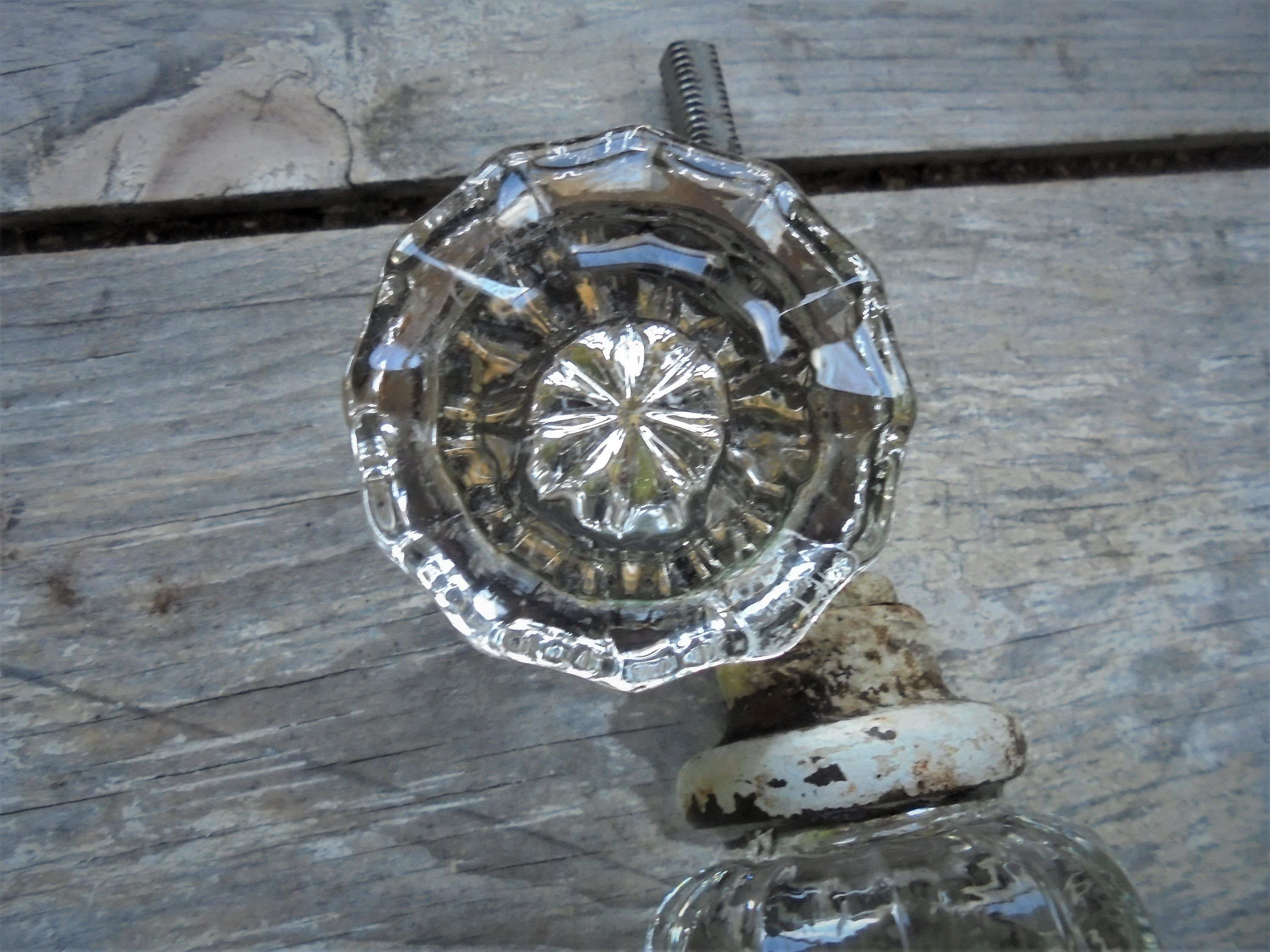 architectural salvage knobs clear millefiori glass curiosities s door antiques prime england antique resource for lassco and doors