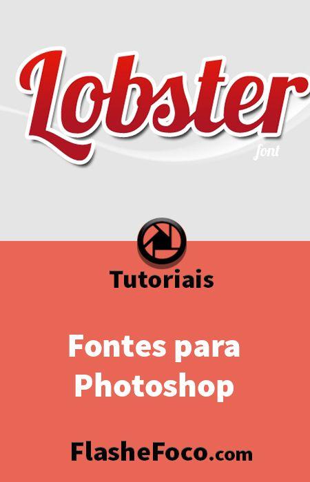 Fontes Photoshop Gratis E Como Instalar Tutoriais De Fotografia