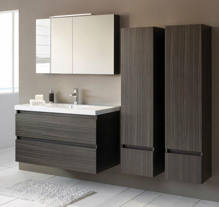Wandschrank für Badezimmer spiegel schrank zwei Salle de bain