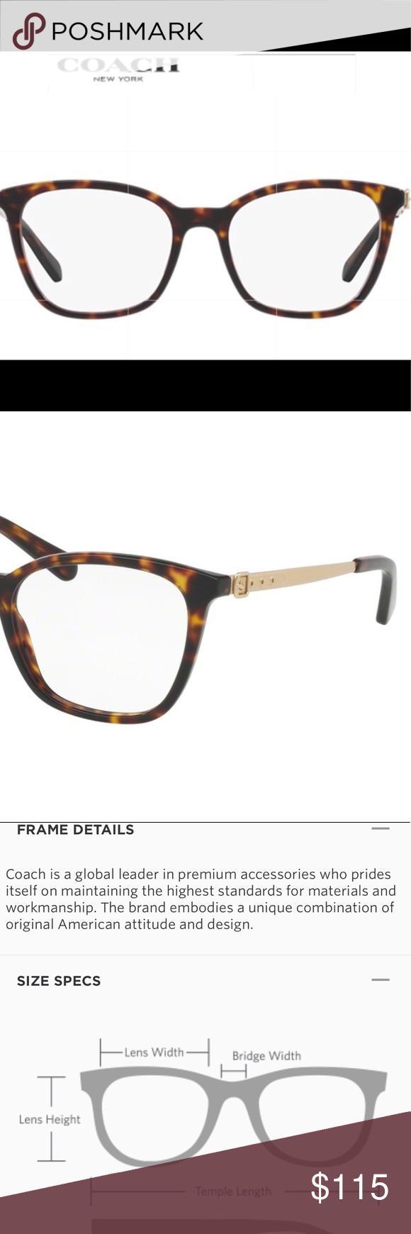 24857b27ee15d 🎀🆕 Coach Eyeglass Frames HC6113🎀 Brand New
