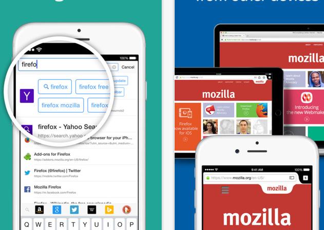 Firefox Yeni iOS güncellemesi ile Artık Daha hızlı Ios