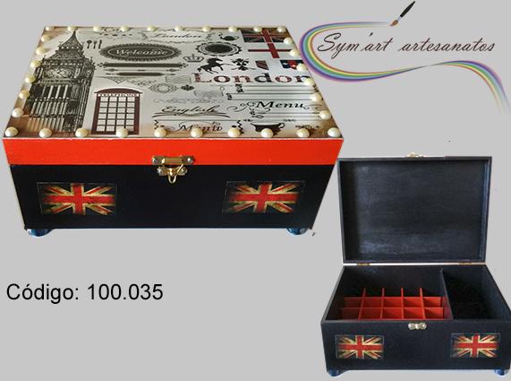 Porta batons Londres em MDF... Email: symartartesanato@gmail.com