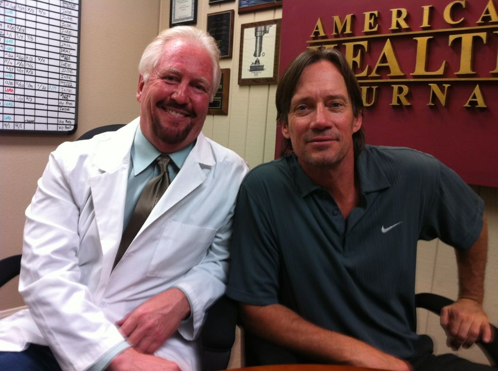Dr Kim Gebrosky and Actor Kevin Sorb on The American Health