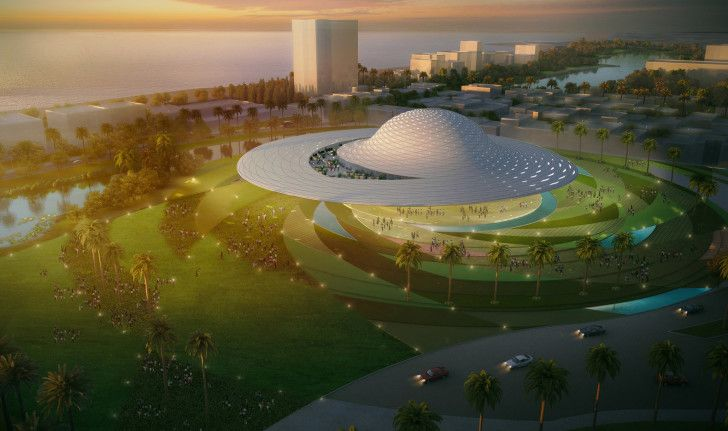UFO-shaped Mazatlan Museum is heading to Mexico!