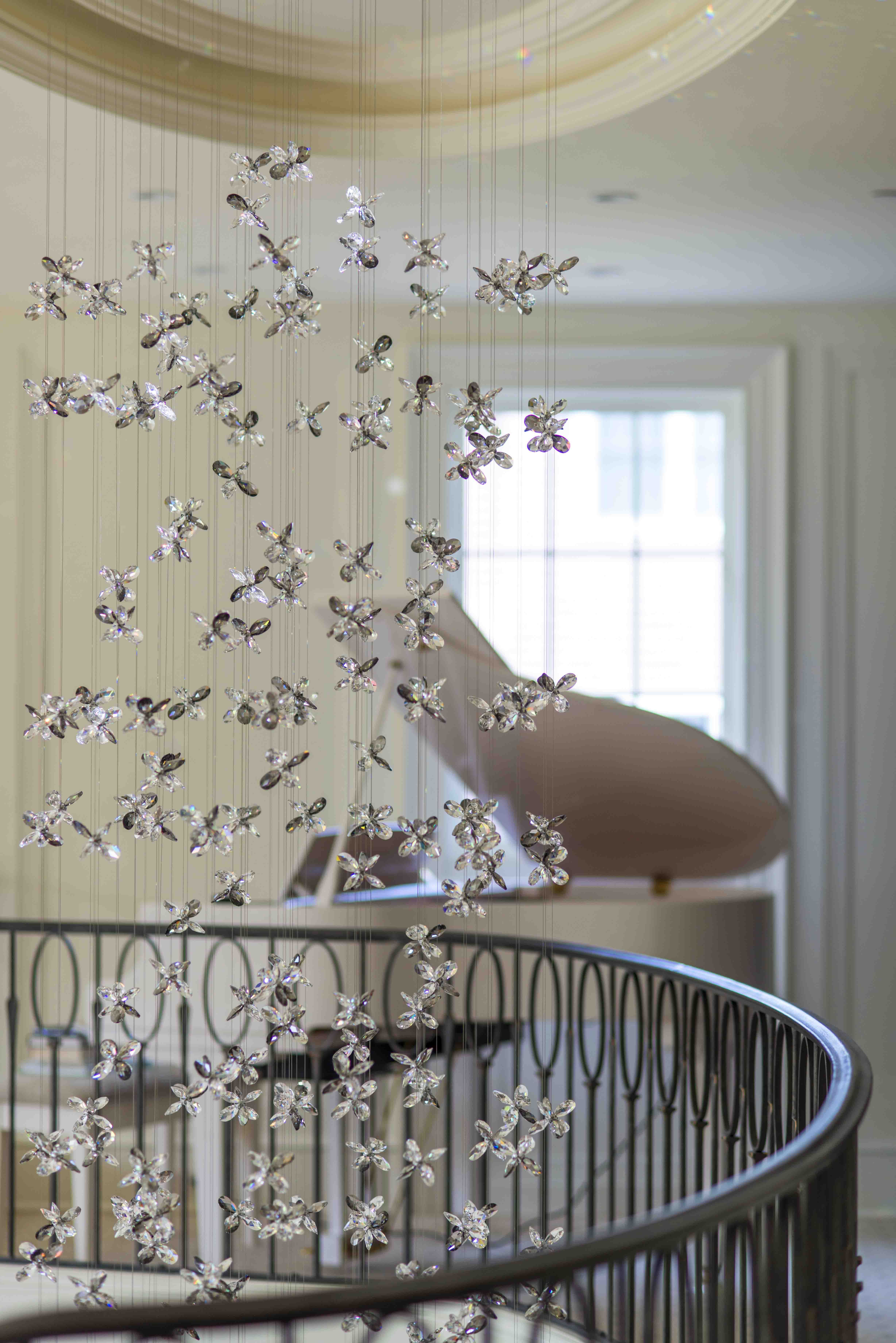 Windfall chandeliers the flower staircase the flower windfall chandeliers the flower staircase arubaitofo Choice Image