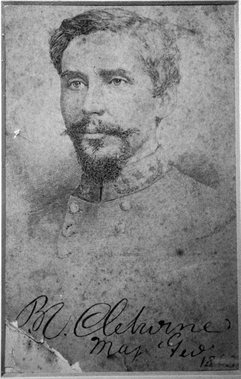 General Patrick Cleburne (from the Helena Museum) #CivilWarHelena
