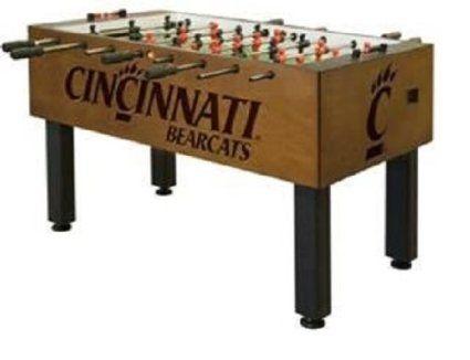 Cincinnati Bearcats Foosball Table Traditional Mahogany Foosball Table Foosball Tables Foosball