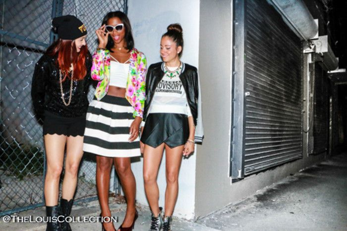 Fashion Happy Hour photo shoot by TheLouisCollection: Fiercely Thriftin, A la Mode Maya, Collections and Volumes