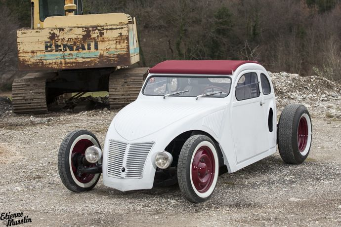 2cv fourgonnette hot rod