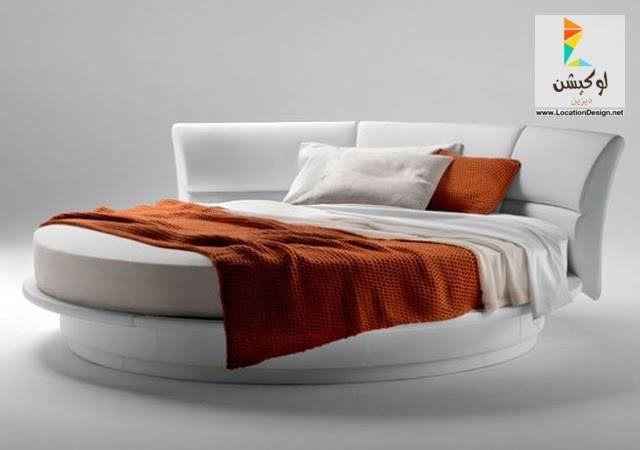 أحدث كتالوج غرف نوم عرسان كلاسيك و مودرن بأكثر من 100 تصميم جديد لوكشين ديزين نت Round Mattress Round Beds Circle Bed