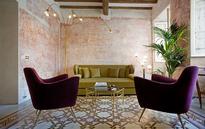 Le g rough rome maison de famille hotel di lusso for Arredamento roma est