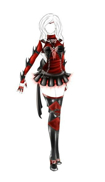 outfit design senshi fuku36closed by lot Character idea