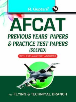 #AFCAT (Air Force Common Admission Test) : Previous Years Papers & Practice Test Papers