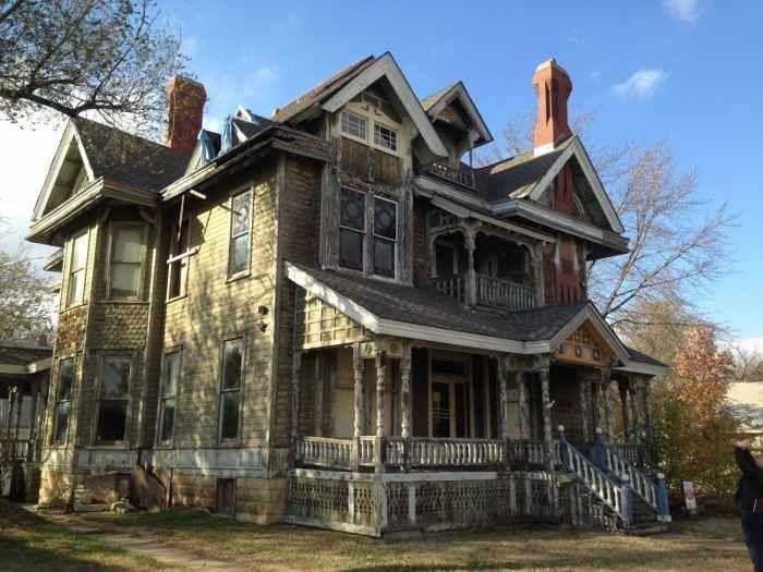 The Sternberg Mansion An 1886 Queen Anne In Wichita