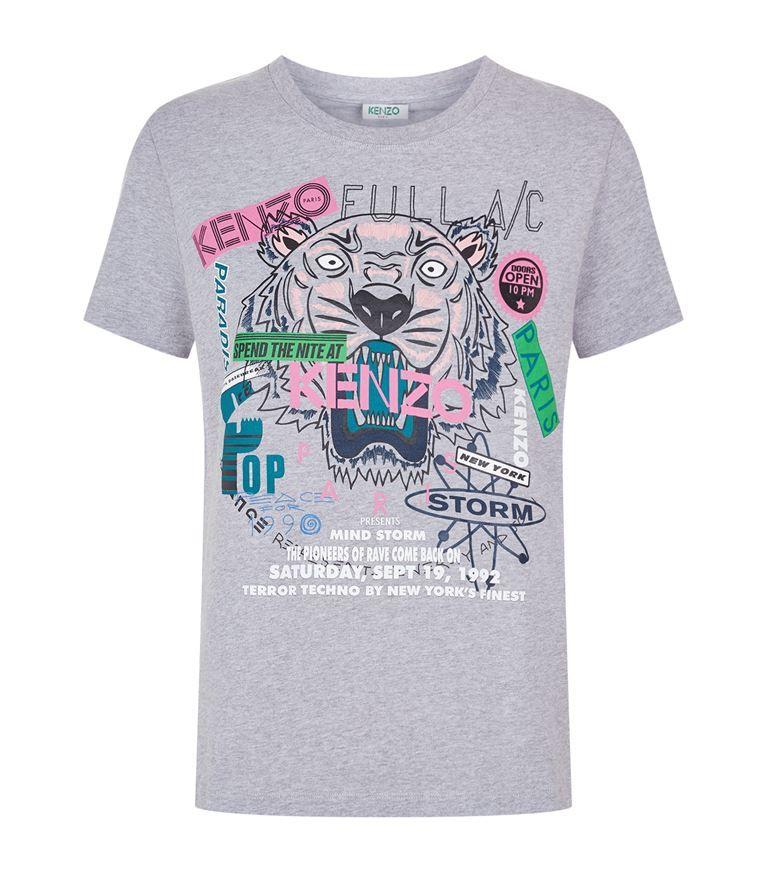 ba9bc263b9 KENZO Tiger Flyer T-Shirt. #kenzo #cloth #   Kenzo   Kenzo, Flyers ...