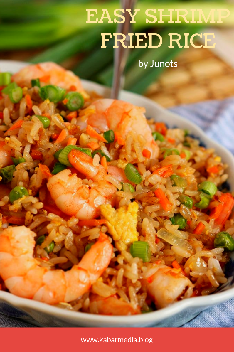 Delicious 😋  Great for a weeknight dinner or casual dinner with friends 🍽🍷 is part of Shrimp fried rice recipe -