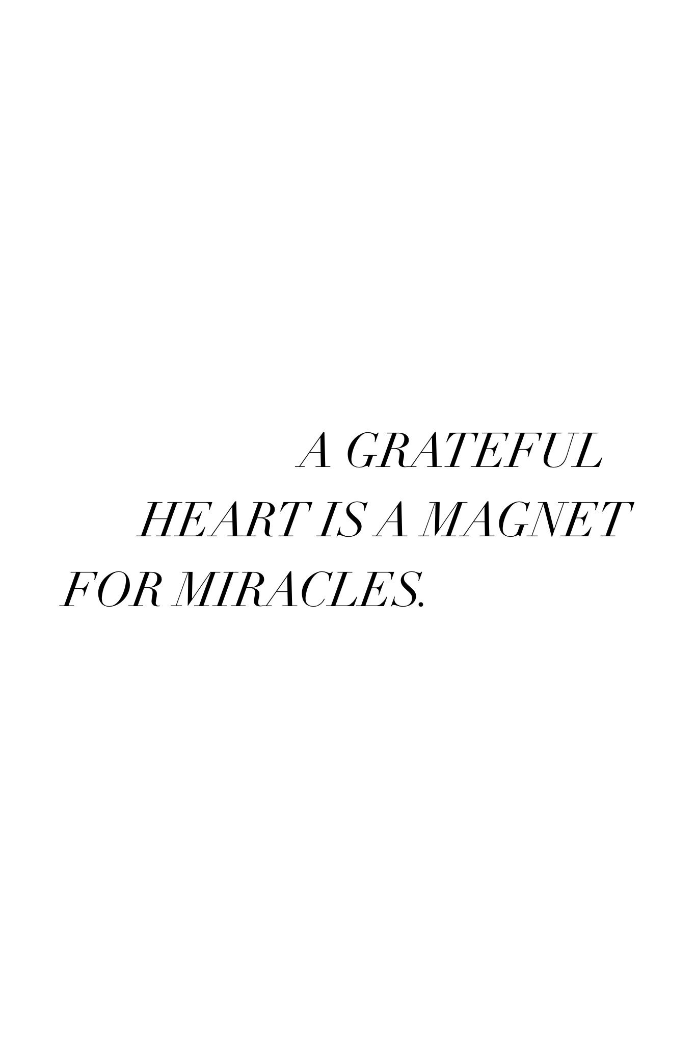 What to give in gratitude