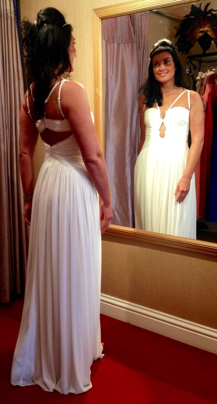 Beach wedding party dresses  White dress perfect for prom or beach wedding  Dresses  Pinterest