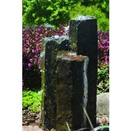Aquascape Stone Fountain - 3-Pack Natural Mongolian Basalt ...