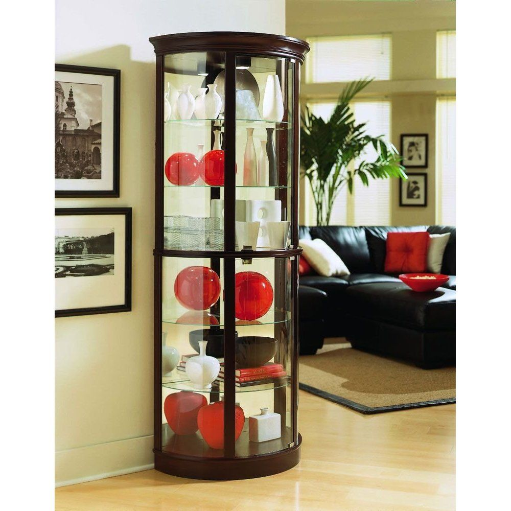 Interior Decorating Curio Cabinet Curio Cabinet