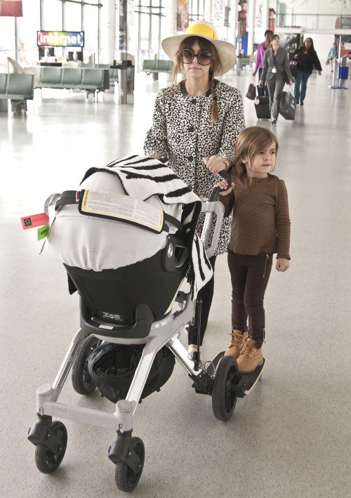 the only reason i am pinning this look at that awesome stroller