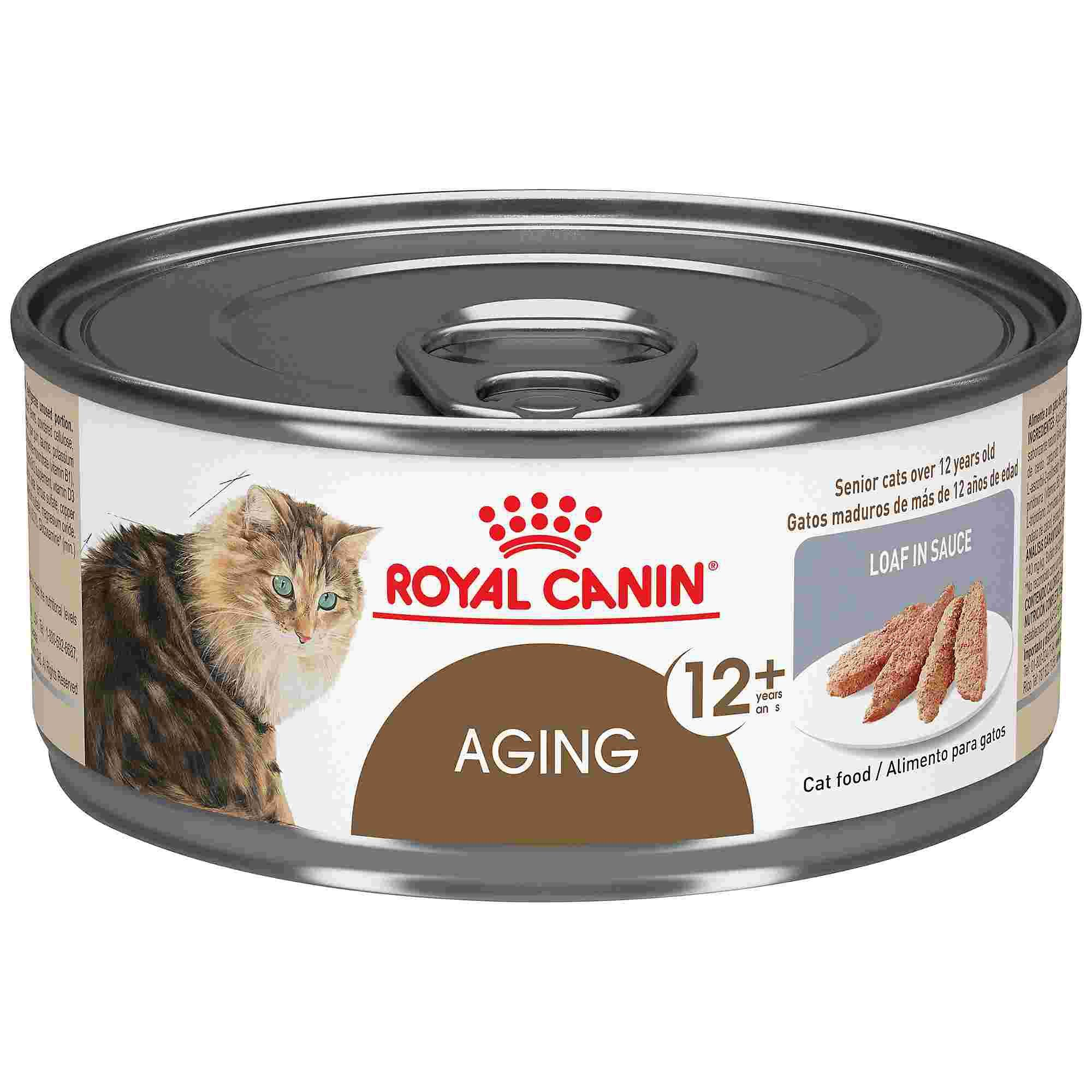 Royal Canin Aging 12+ Loaf in Sauce Wet Cat Food, 5.8 oz