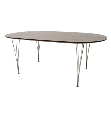 Replica Eames Super Elliptical Dining Table Main Image