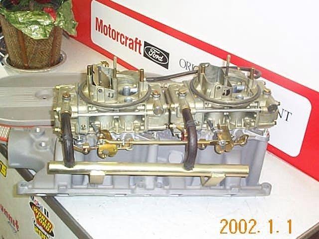 dual quad for 289/302? - Club Cobra | engines | Quad