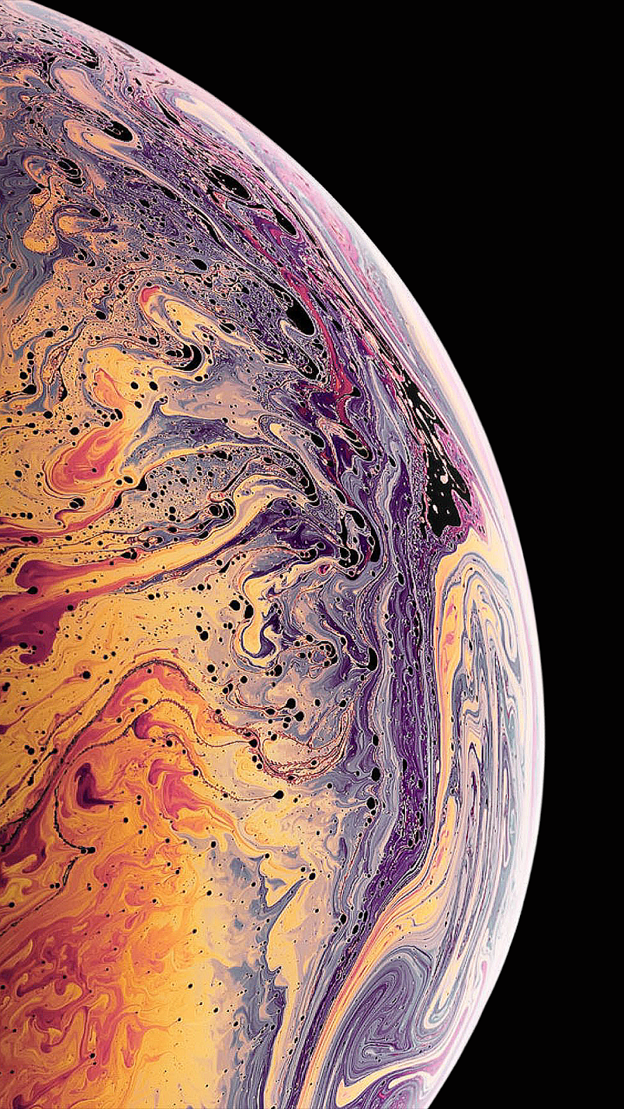 iPhone XS / XS MAX Wallpaper (2 variants) by AR72014 วอ
