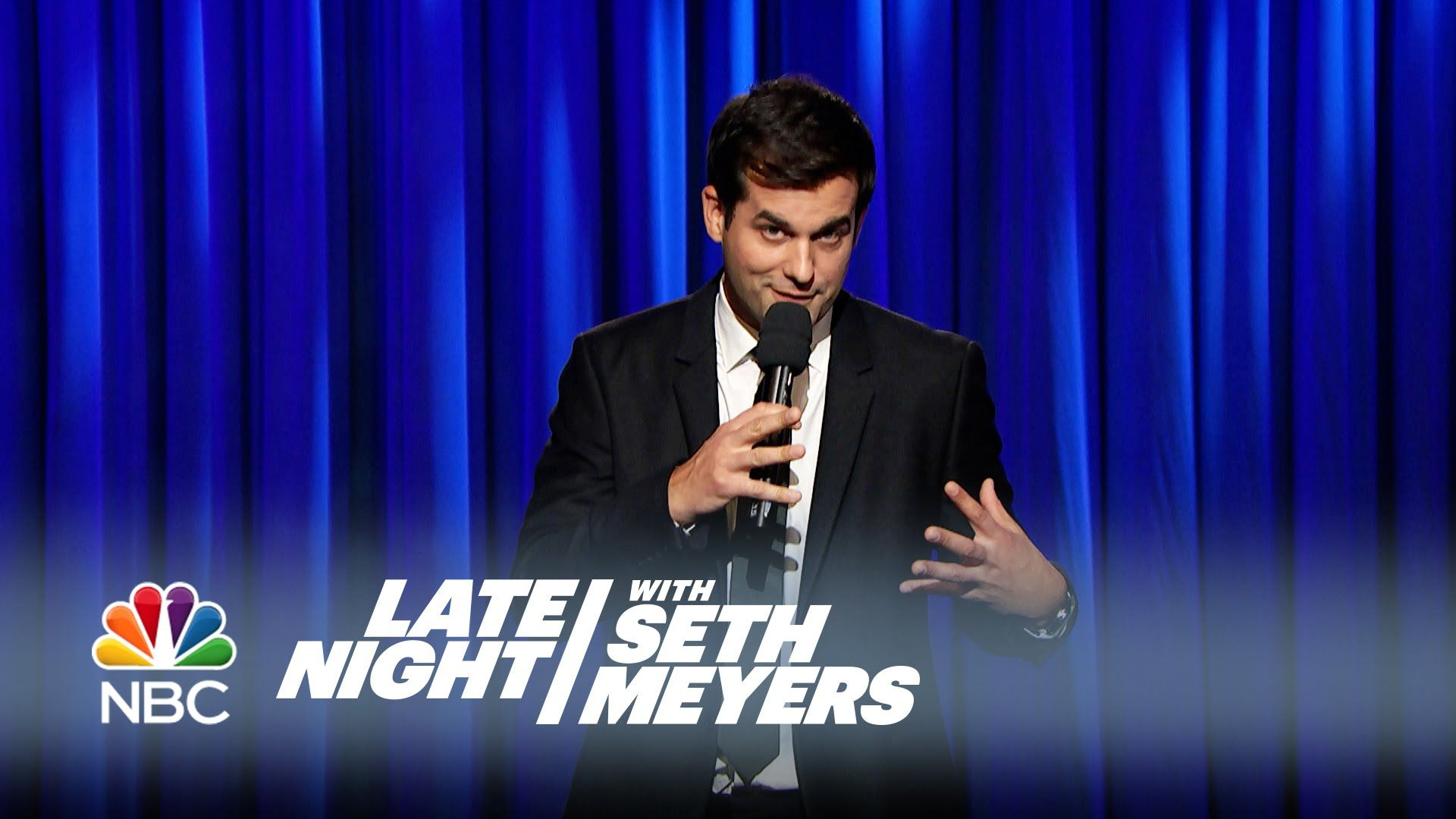 Michael Kosta Stand-Up Performance - Late Night with Seth Meyers