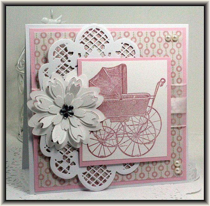 Открытка днем, открытка с новорожденным в скрапбукинге