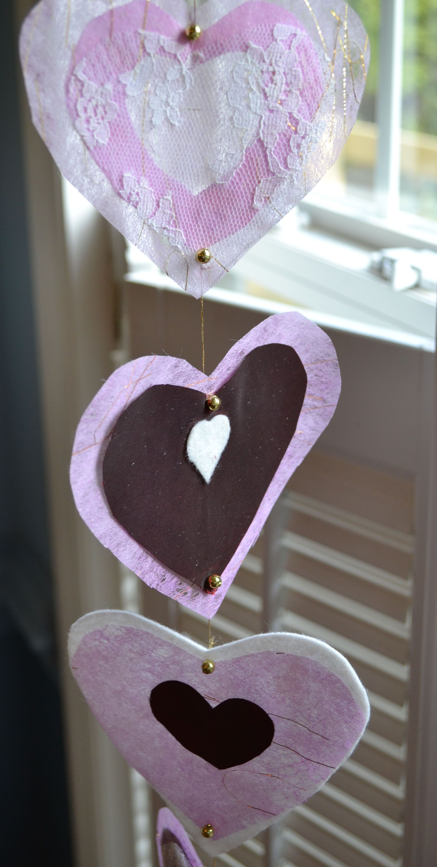 Valentine's decorations.